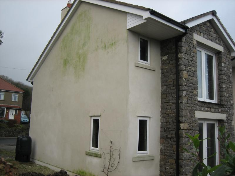 an example of a property afflicted with penetrating damp in barnsley